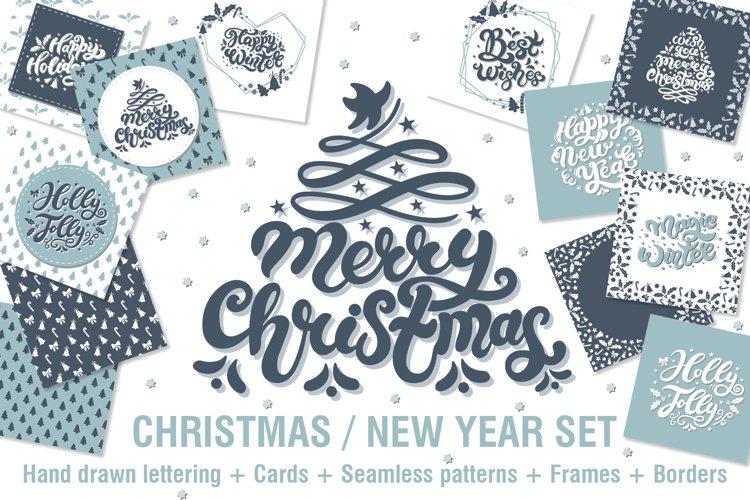 Merry Christmas / Happy New Year Set example image 1