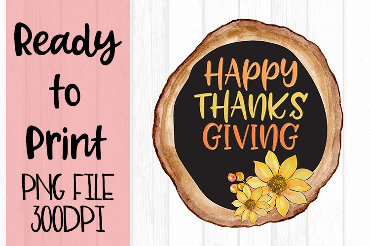Happy Thanksgiving Ready to Print example image 1