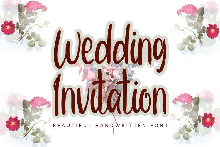 Wedding Invitation example image 1
