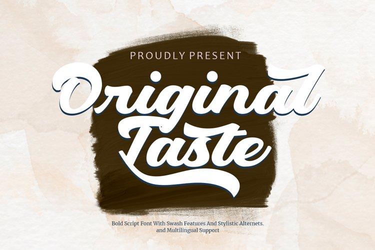 Original Taste example image 1
