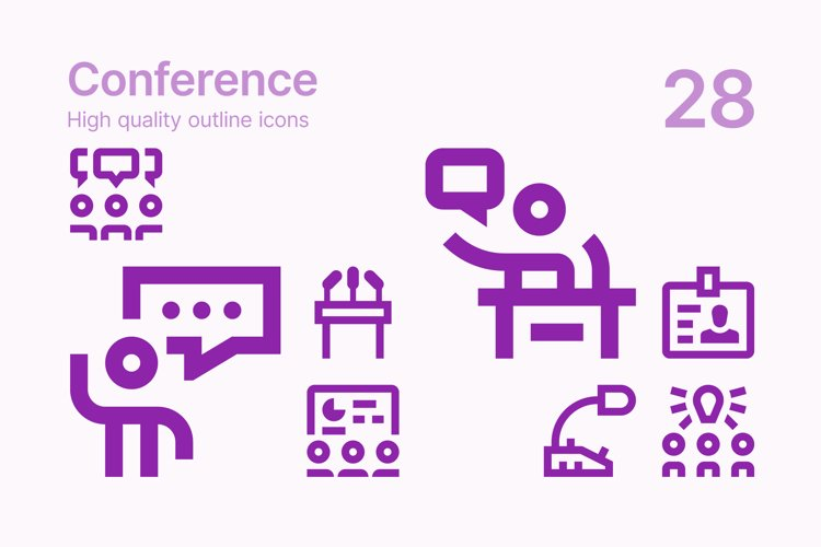 Conference Icons example image 1