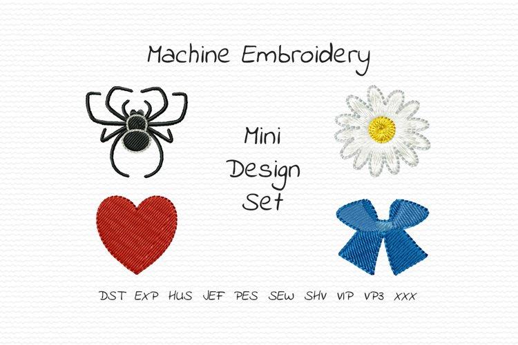 Mini Design Set 1 - Machine Embroidery Design