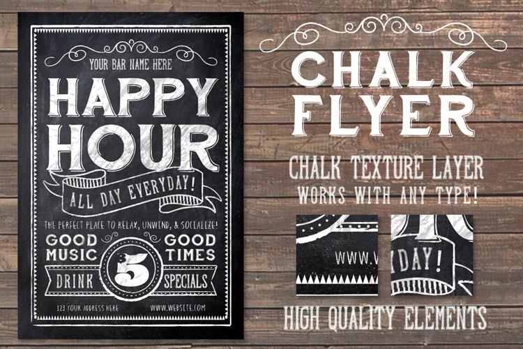 Chalk Flyer