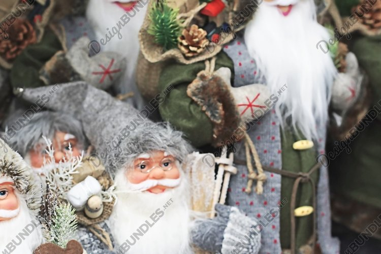 Santa Claus as a symbol of the Christmas in the Market example image 1