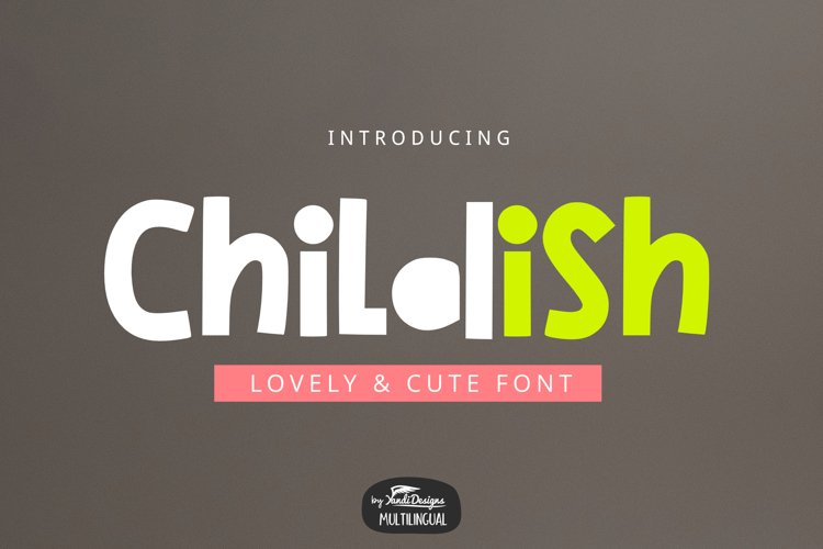 Childish Font example image 1