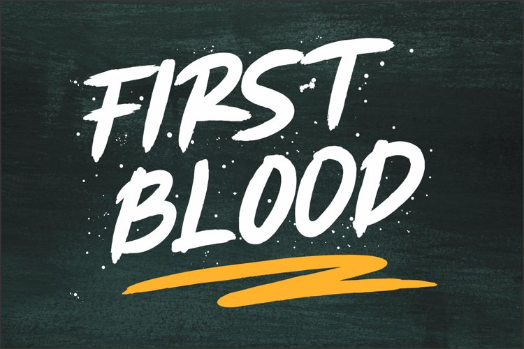 First Blood example image 1