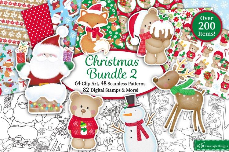 Christmas bundle, Christmas clipart graphics & illustrations example image 1