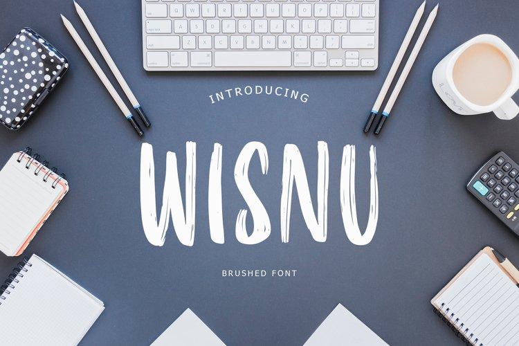 Wisnu Brush Font example image 1