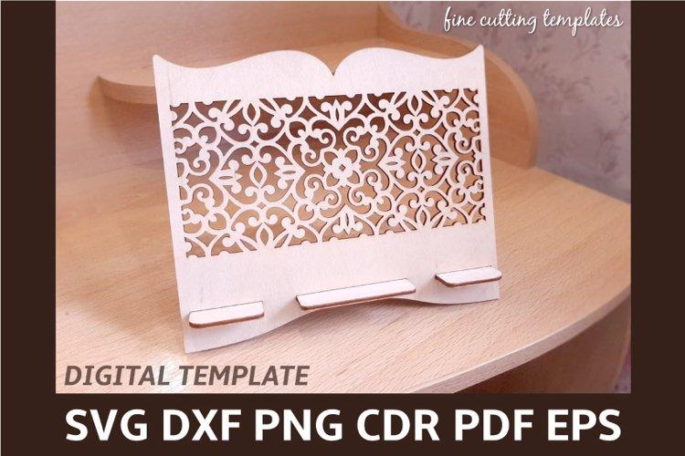 Download Laser Cut Template Carved Stand For Large Smartphone Tablet 555429 Cut Files Design Bundles