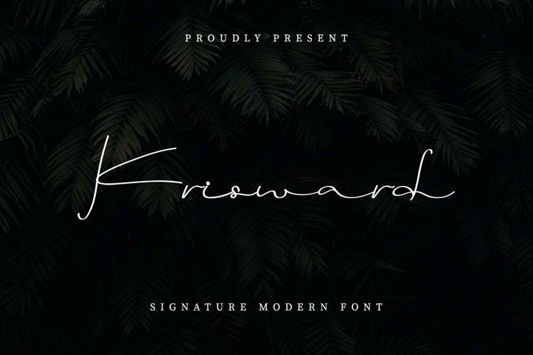 Krisward example image 1
