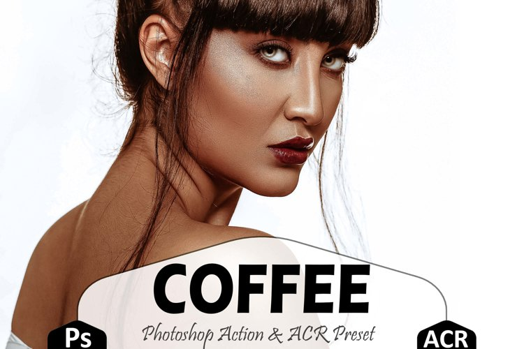 Coffee Photoshop Actions And ACR Presets, instagram preset example image 1