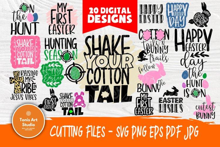 Easter Svg Bundle Happy Easter Svg Easter Cut Files 521630 Cut Files Design Bundles