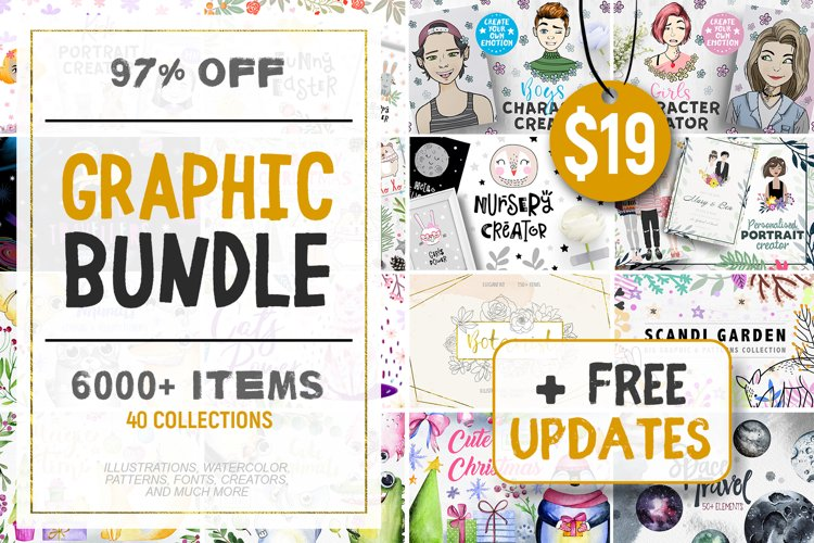 Graphic Bundle - 6000 in 1
