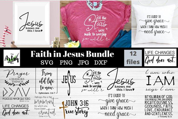 Faith quotes svg Bundle, Christian quotes bundle, Jesus svg