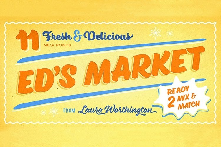 Ed's Market Collection example image 1