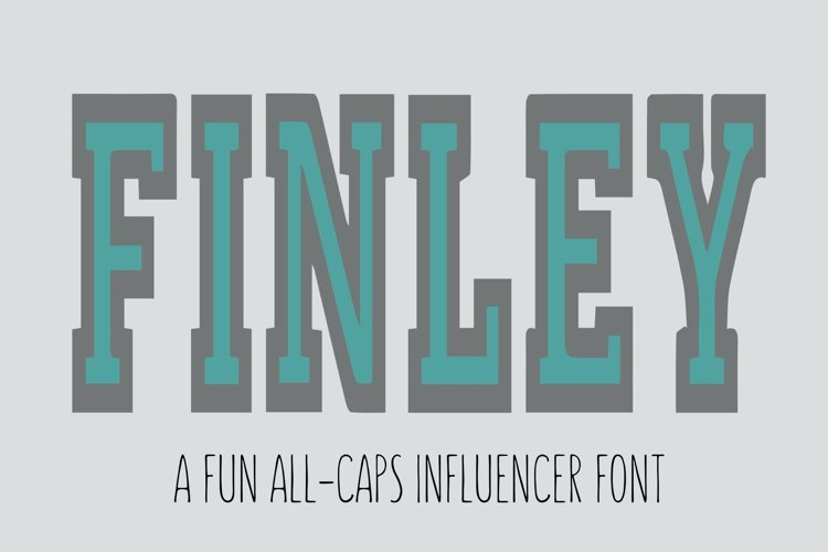 FINLEY Font is the font you have been looking for! SVG OTF example image 1