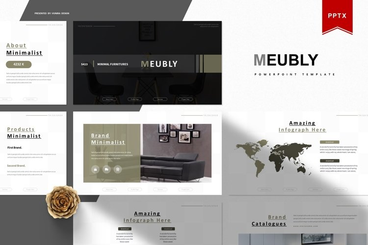 Meubly | Powerpoint Template example image 1
