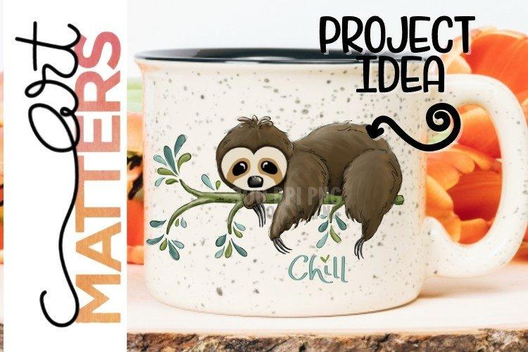 Sloth Chill - 300 DPI example image 1
