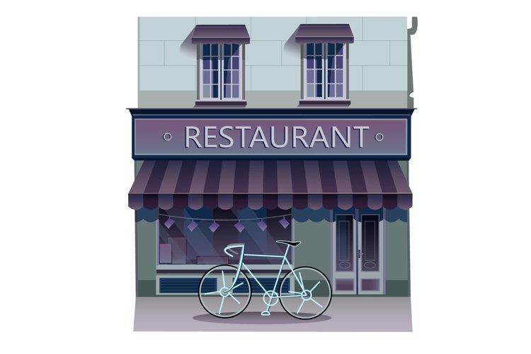 Restaurant illustration example image 1