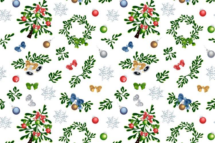 Seamless Christmas Set