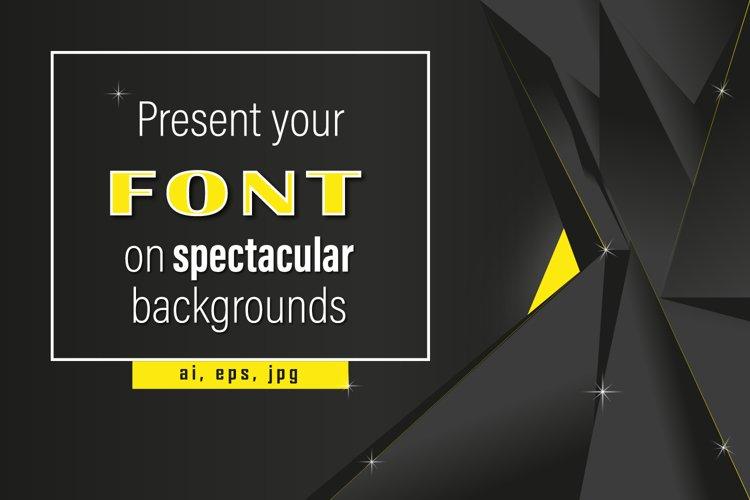 Mockup - Background - Black is beautiful example image 1