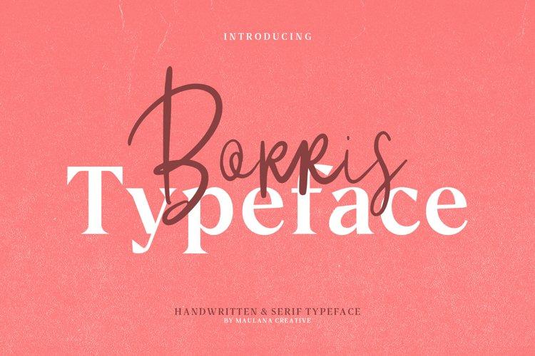 Borris Font Duo example image 1