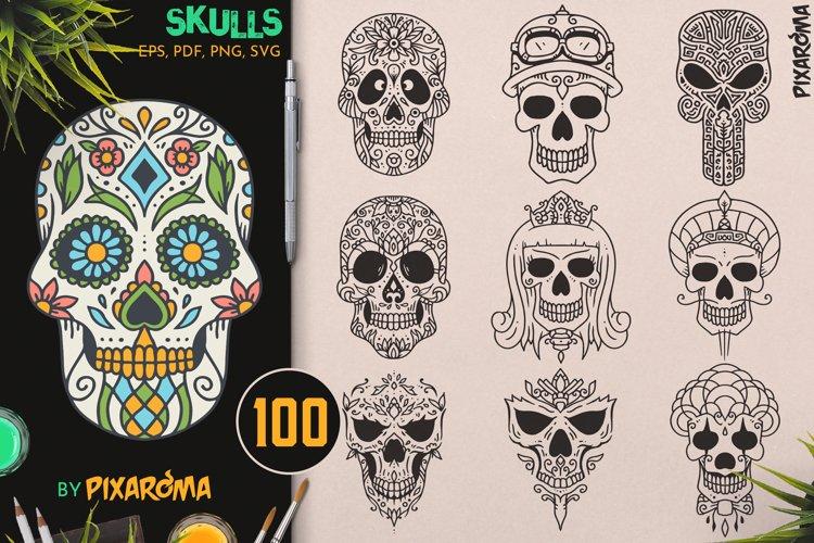 100 Decorative Skulls example image 1