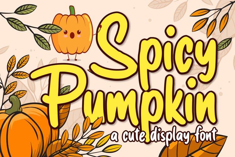 Spicy Pumpkin example image 1