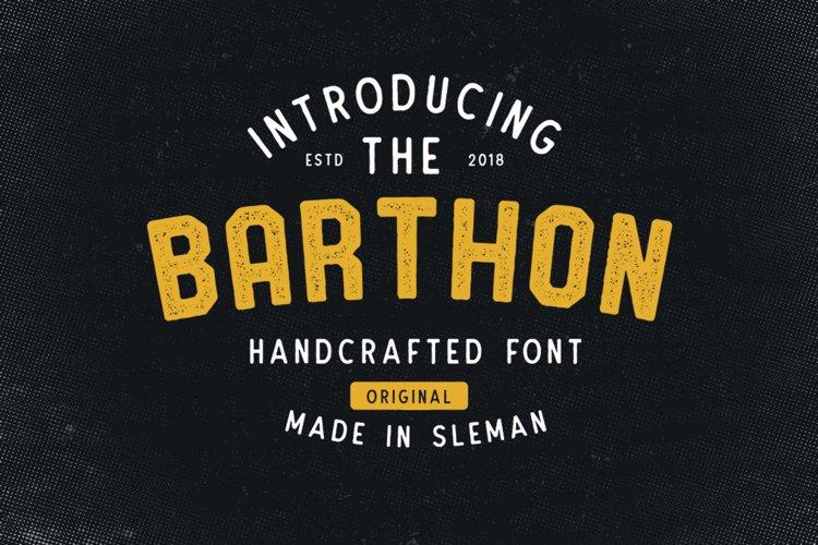 Barthon Typeface Combo 7Fonts! example image 1