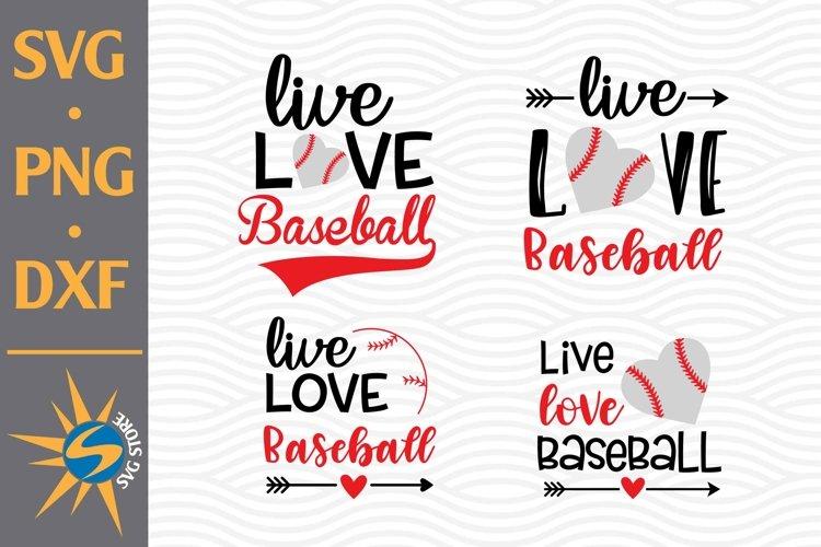 Download Live Love Baseball Svg Png Dxf Digital Files 826962 Cut Files Design Bundles