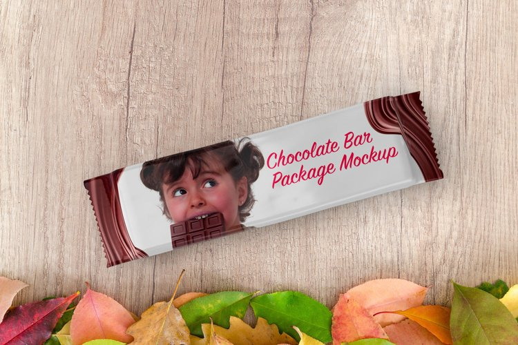 Chocolate Bar Package Mockup example image 1
