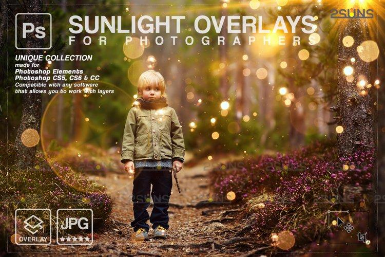 Sunlight Photo Overlays, Sunlight Overlays, Sun Flares