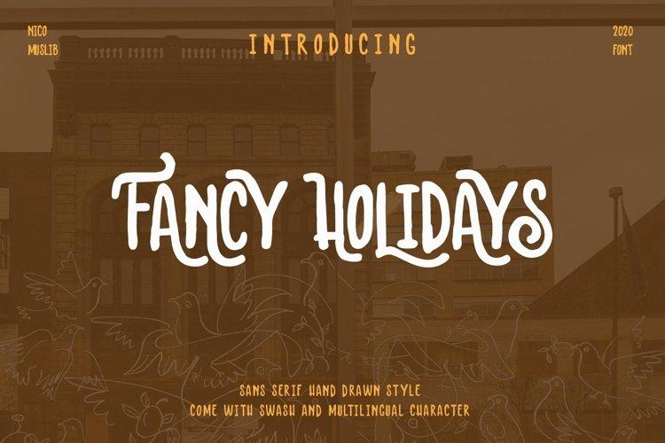 Fancy Holidays example image 1