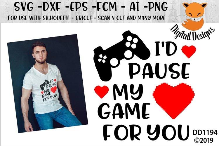 Video Gamer Valentine SVG
