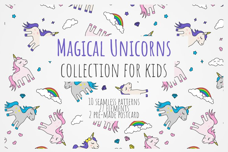 Magical Unicorns Collection example image 1