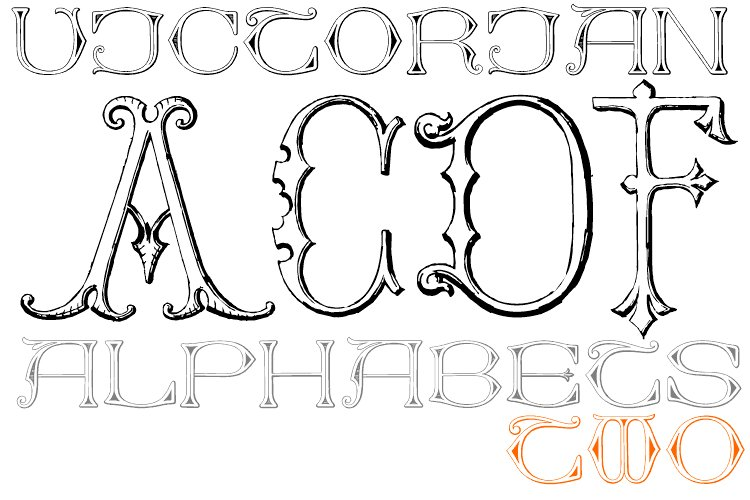 Victorian Alphabets Two example image 1