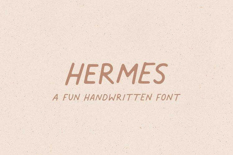Hermes // A Fun Handwritten Font example image 1