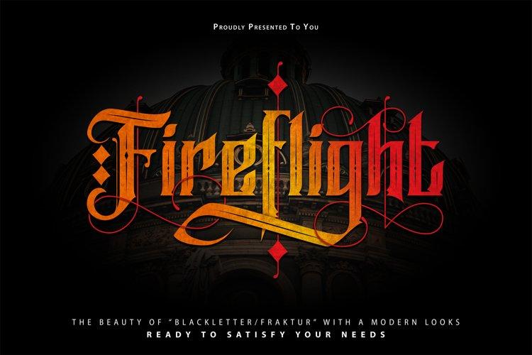 FireFlight | Blackletter Modern Font