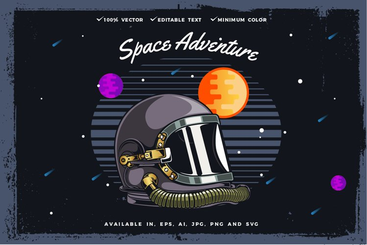 Space helmet example image 1