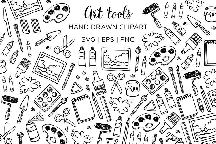 Art tool clipart. Painter clip art.