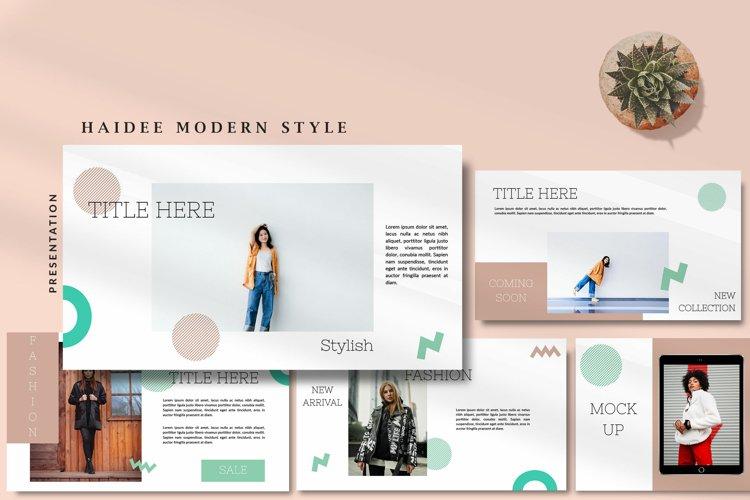 Haidee Modern - Fashion Keynote
