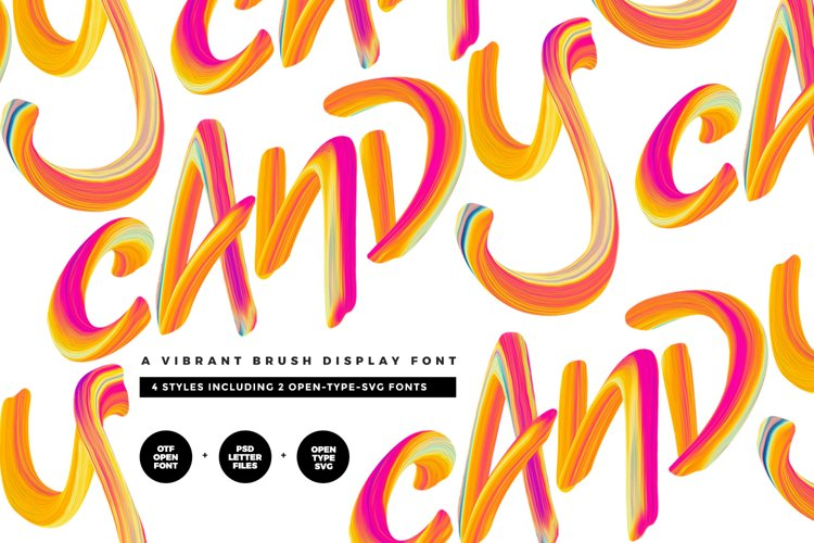 Candy Colour Font example image 1