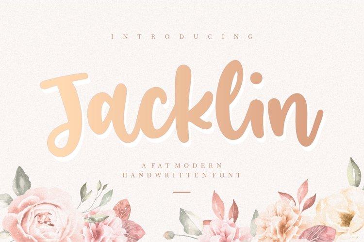 Jacklin Modern Handwritten Font example image 1