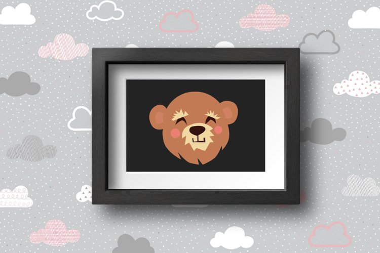 Cute Animals Characters Bundle example 8