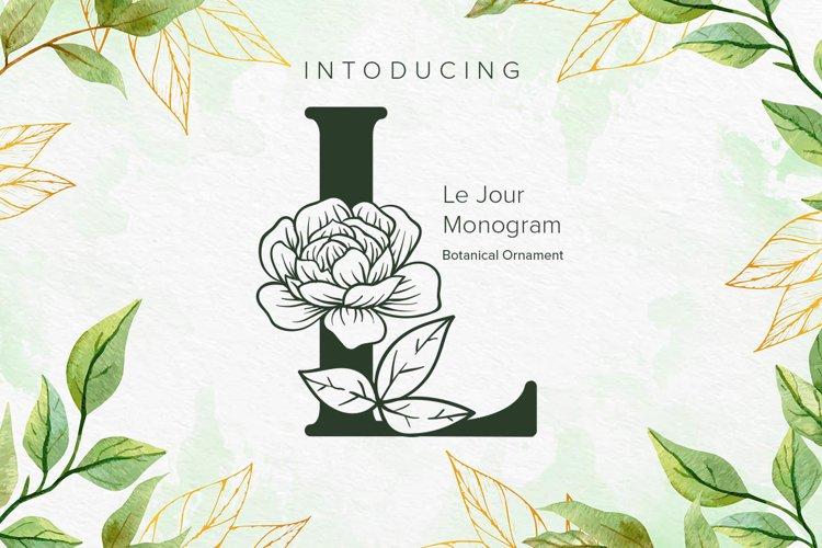 Le Jour - Monogram example image 1