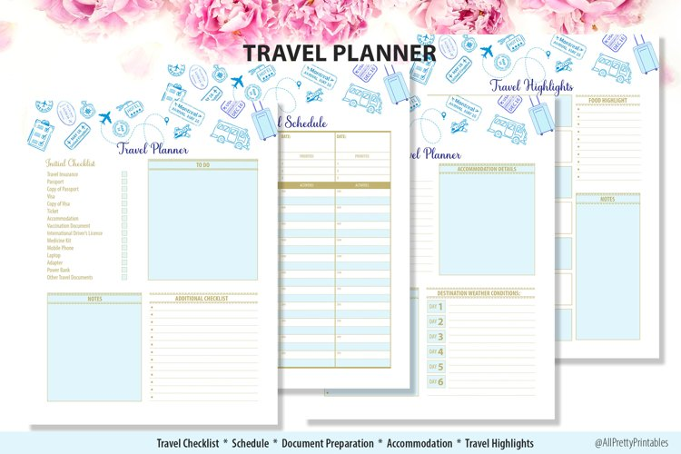 Travel Planner example image 1