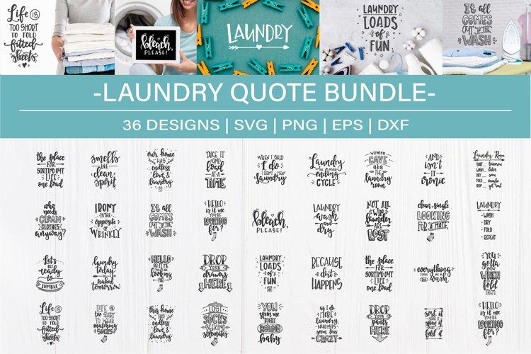 Laundry SVG Bundle design set example image 1
