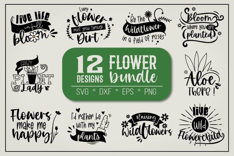 Flower quotes bundle