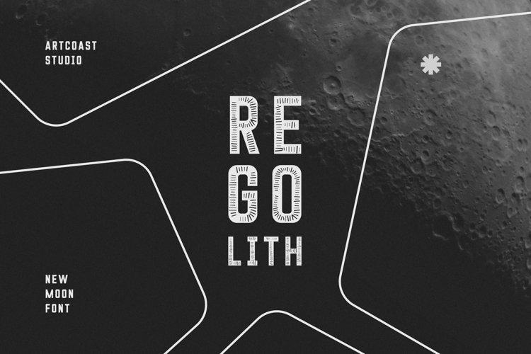 Regolith Display Typeface