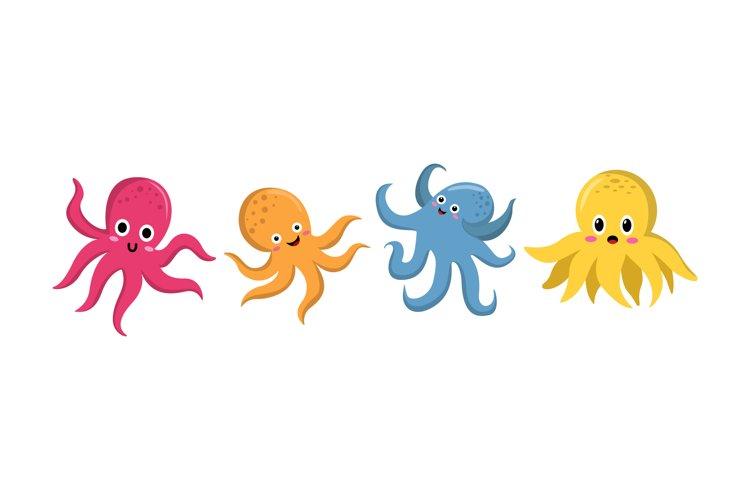 Cute Octopus Illustrations
